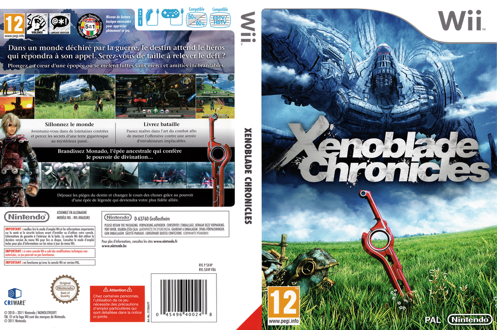Xenoblade Chronicles Wii coverfullHQ (SX4P01)