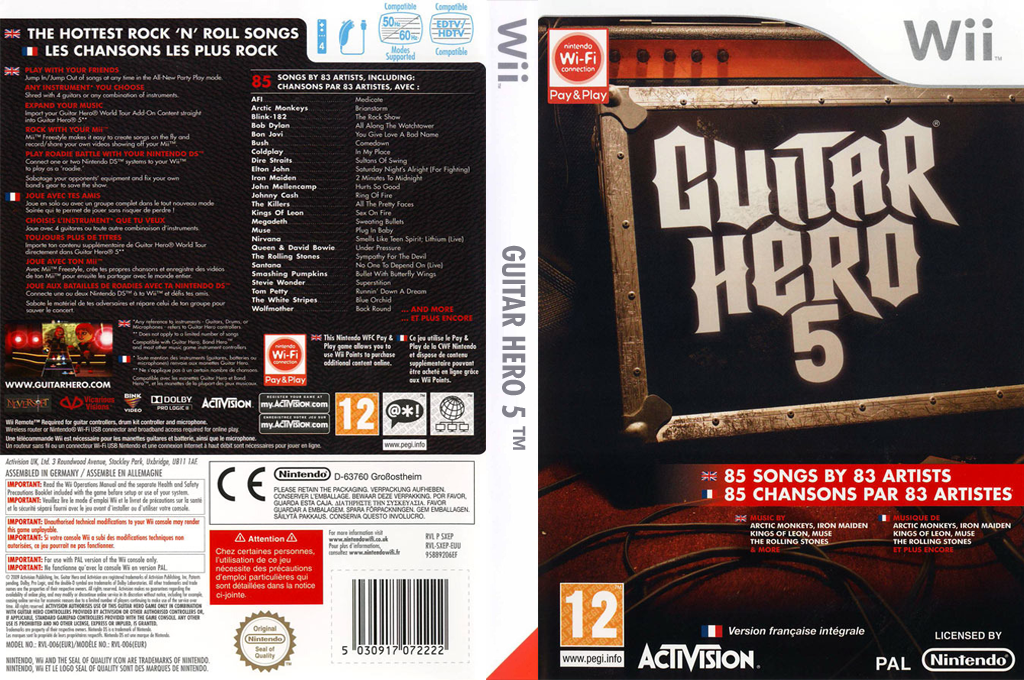 Guitar Hero 5 Wii coverfullHQ (SXEP52)