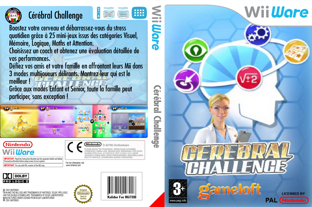 Cérébral Challenge Wii coverfullHQ (W2CP)