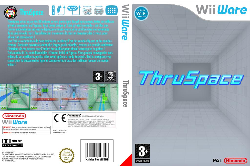 Thruspace Wii coverfullHQ (W3KP)