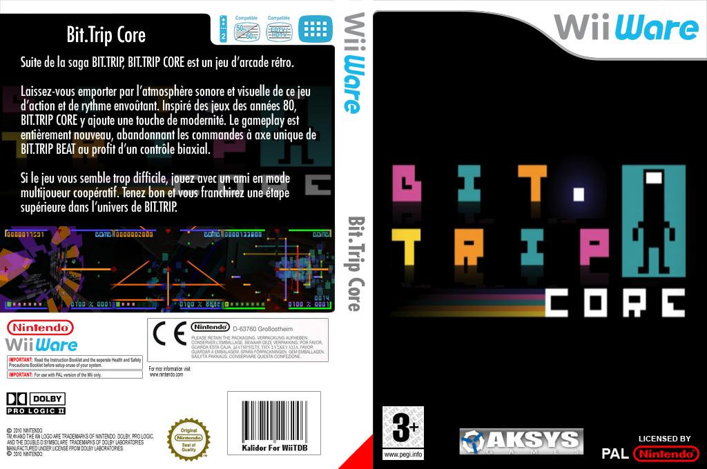 Bit.Trip Core Wii coverfullHQ (W8CP)