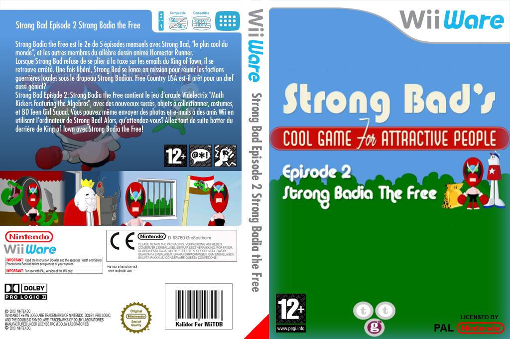 Strong Bad Episode 2:Strong Badia - The Free Wii coverfullHQ (WBYP)