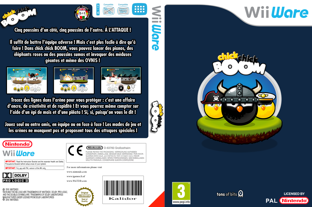 chick chick BOOM Wii coverfullHQ (WCKP)