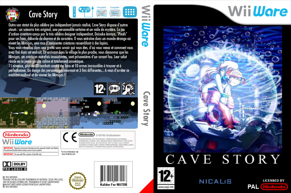 Cave Story Wii coverfullHQ (WCVP)