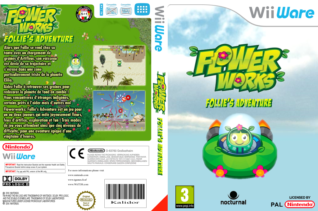 Flowerworks : Follie's Adventure Wii coverfullHQ (WFWP)