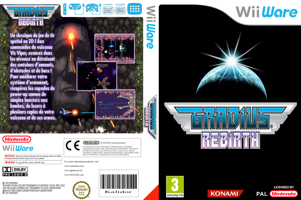 Gradius Rebirth Wii coverfullHQ (WGDP)