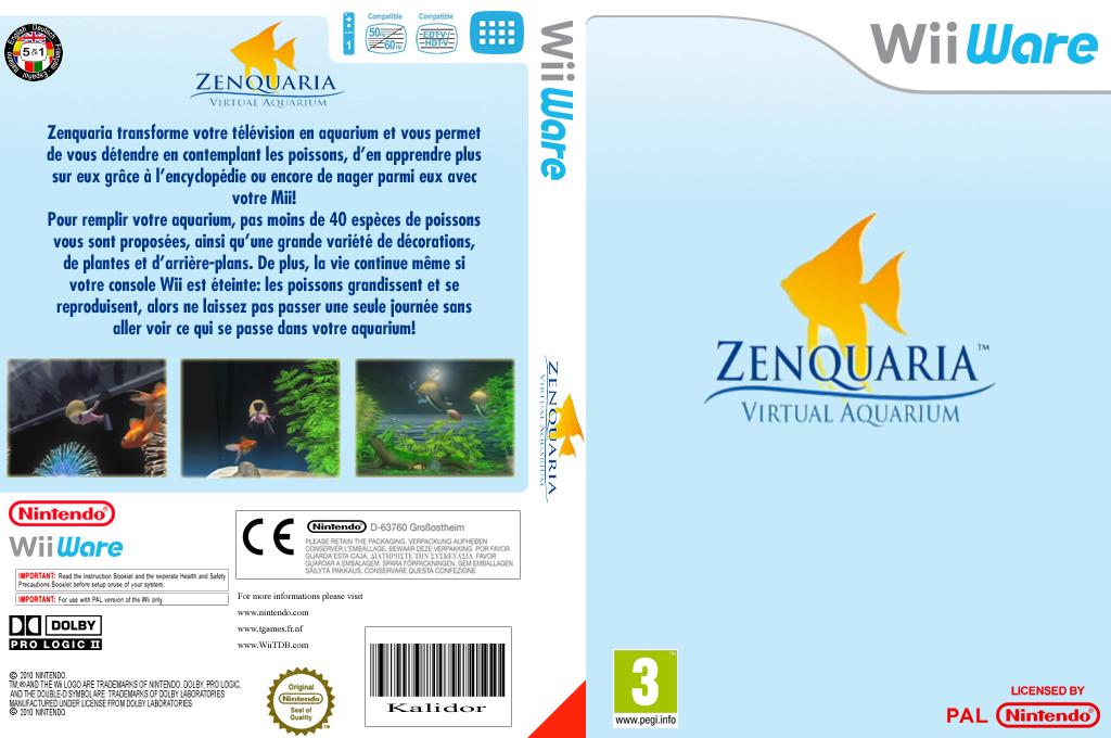 Zenquaria L'aquarium Virtuel Wii coverfullHQ (WGPP)