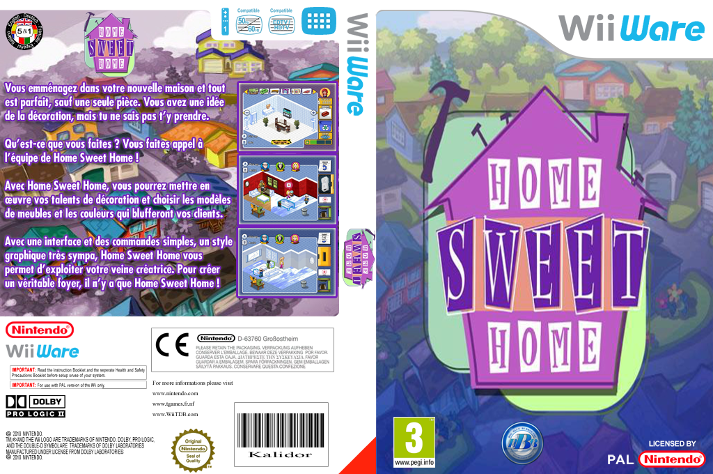 Home Sweet Home Wii coverfullHQ (WH3P)