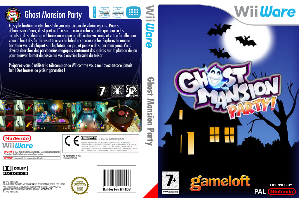 Ghost Party Wii coverfullHQ (WHUP)