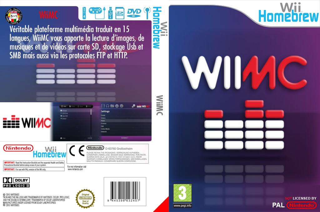 WiiMC Wii coverfullHQ (WIMC)