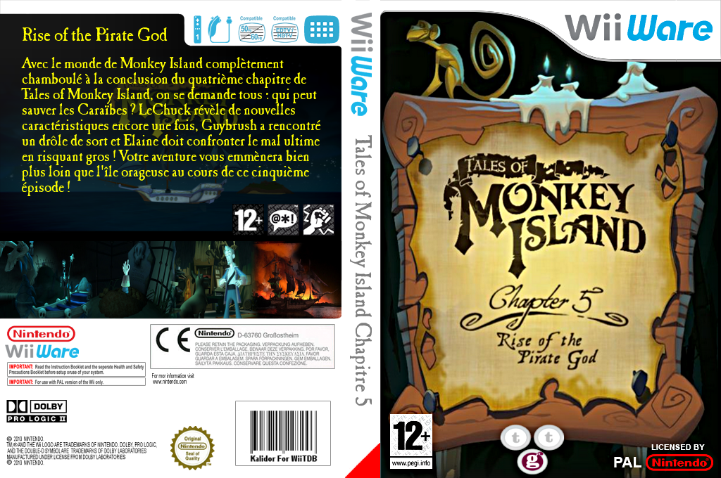 Tales of Monkey Island Chapter 5: Rise Of The Pirate God Wii coverfullHQ (WIRP)