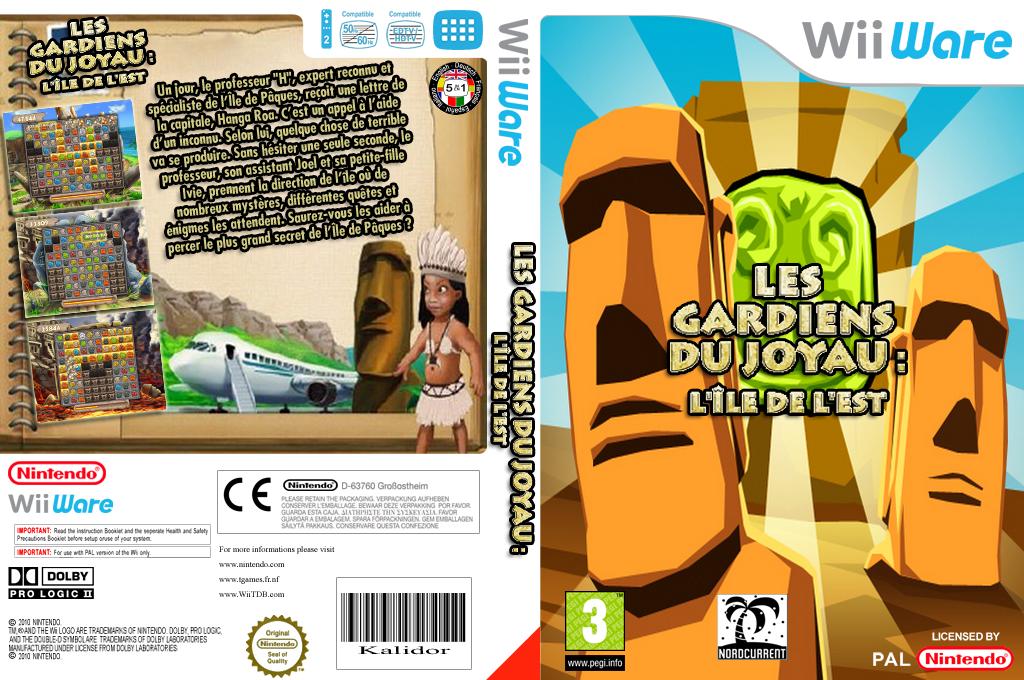Les Gardiens du Joyau:l'Île de l'Est Wii coverfullHQ (WJKP)