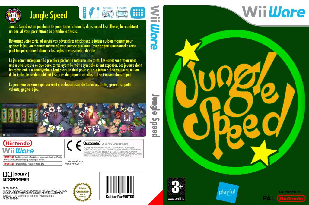 Jungle Speed Wii coverfullHQ (WJSP)