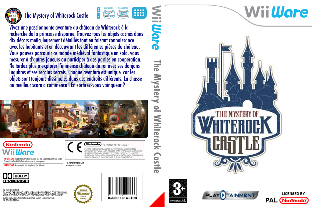 The Mystery of Whiterock Castle Wii coverfullHQ (WKIP)