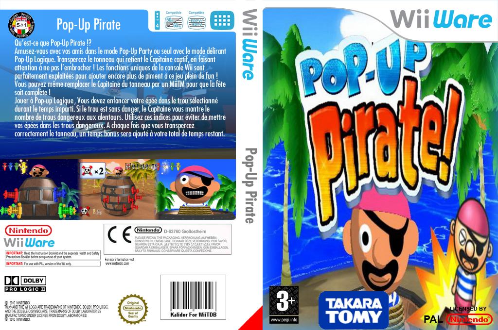Pop-Up Pirates! Wii coverfullHQ (WKKP)