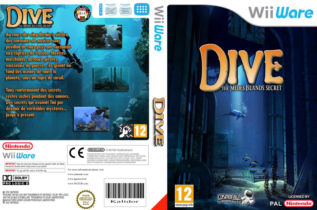 Dive: The Medes Islands Secret Wii coverfullHQ (WMJP)