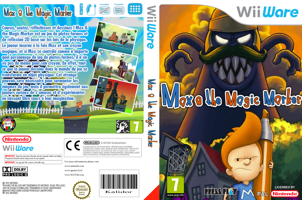Max & the Magic Marker Wii coverfullHQ (WMXP)