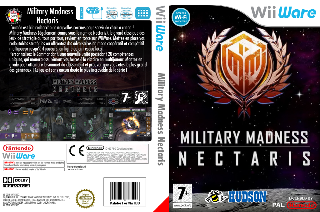 Military Madness : Nectaris Wii coverfullHQ (WN9P)