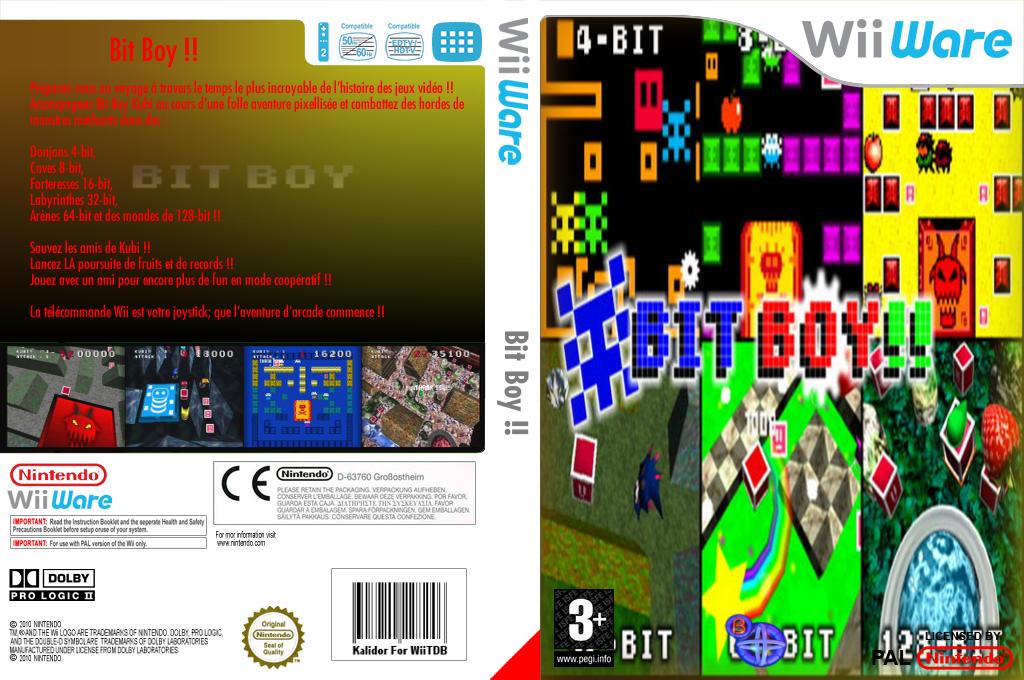 Bit Boy!! Wii coverfullHQ (WOYP)