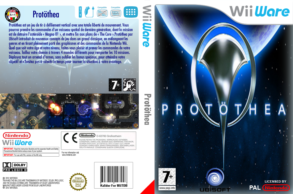 Protöthea Wii coverfullHQ (WPQP)