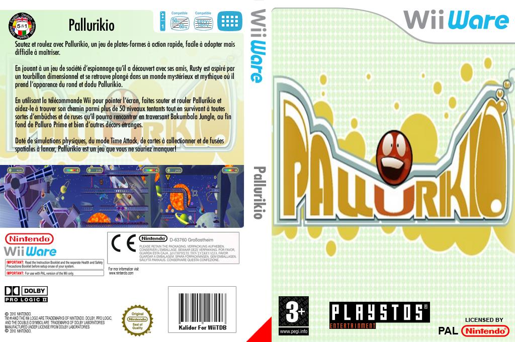 Pallurikio Wii coverfullHQ (WPYP)