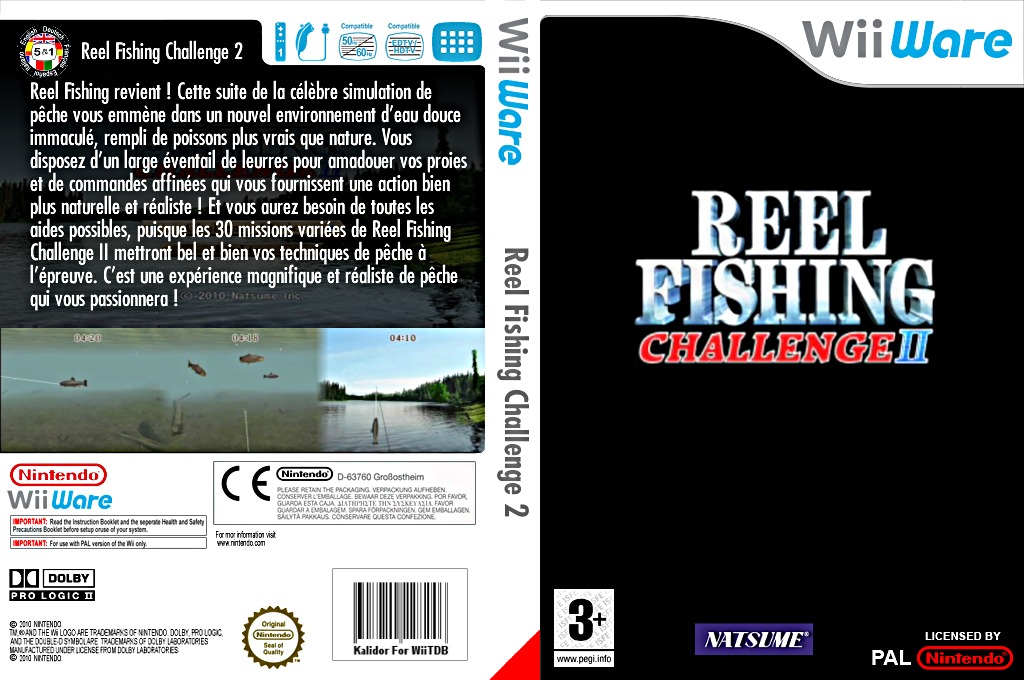 Reel Fishing Challenge 2 Wii coverfullHQ (WRFP)