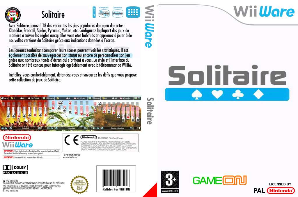 Solitaire Wii coverfullHQ (WSSP)