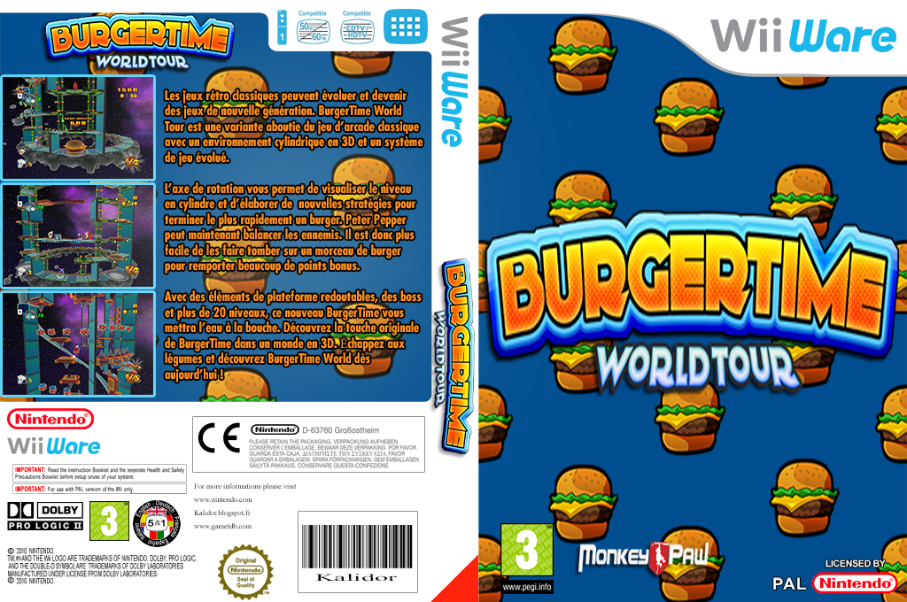 BurgerTime World Tour Wii coverfullHQ (WWTP)