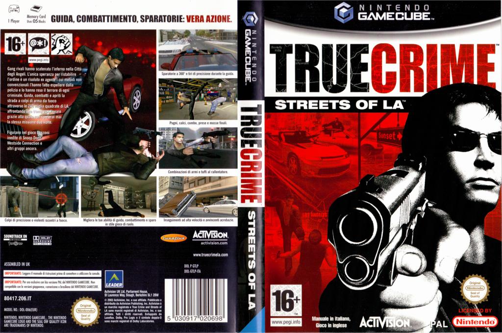 True Crime: Streets of LA Wii coverfullHQ (GTLP52)