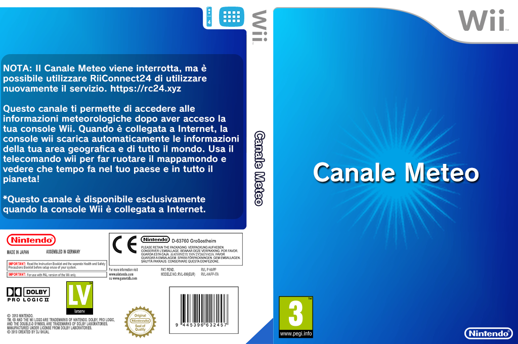 Canale Meteo Wii coverfullHQ (HAFP)