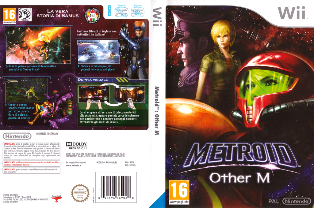 Metroid: Other M Wii coverfullHQ (R3OP01)