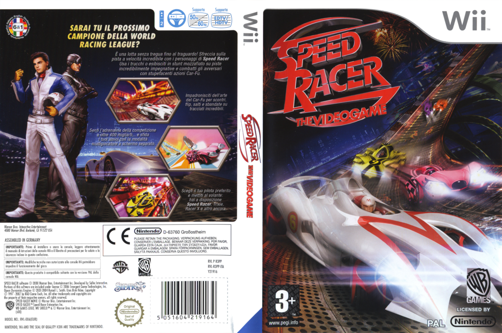 Speed Racer Wii coverfullHQ (R3PPWR)