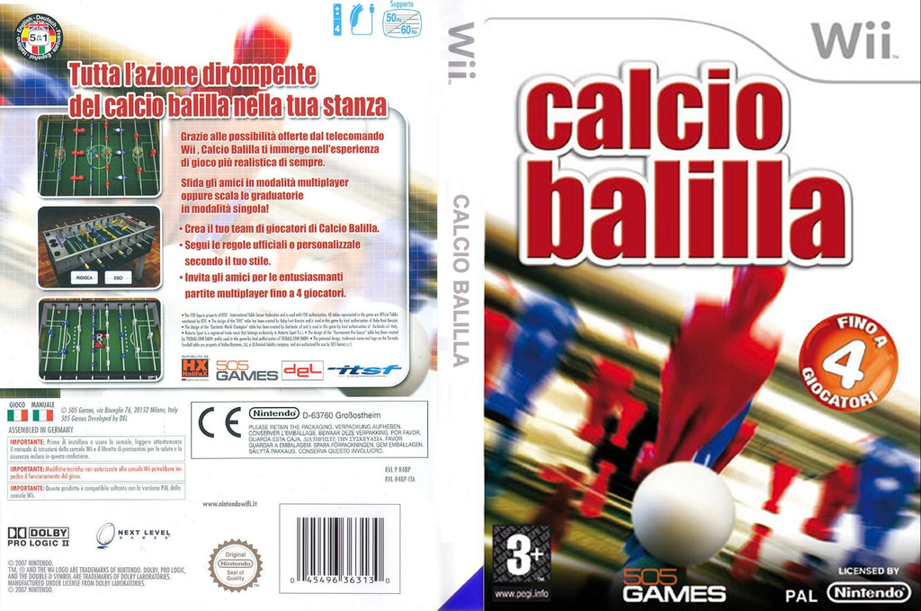 Calcio Balilla Wii coverfullHQ (R4BPGT)