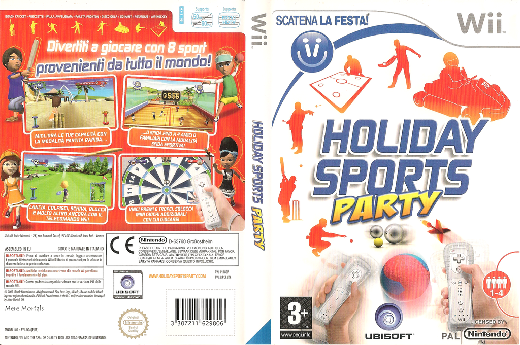 Holiday Sports Party Wii coverfullHQ (R8SP41)
