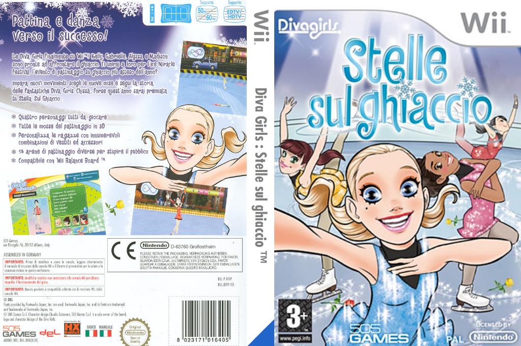 Diva Girls: Stelle sul ghiaccio Wii coverfullHQ (RI9PGT)