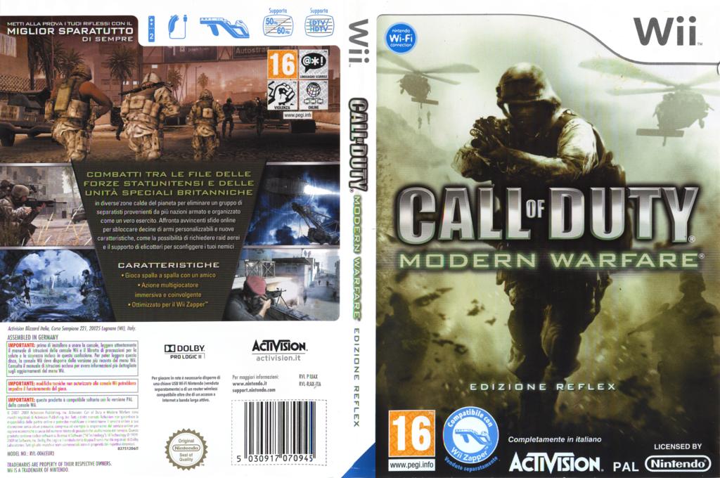 Call of Duty: Modern Warfare - Edizione Reflex Wii coverfullHQ (RJAX52)