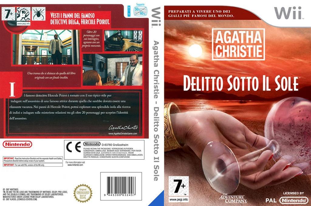 Agatha Christie: Delitto sotto il sole Wii coverfullHQ (RQEP6V)