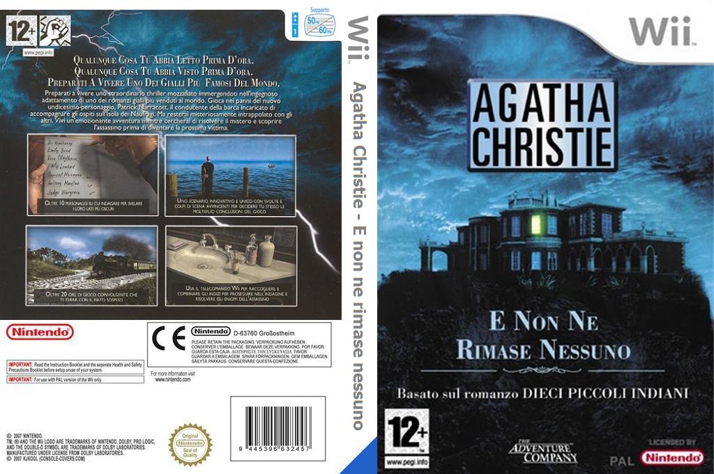 Agatha Christie: E non ne rimase nessuno Wii coverfullHQ (RQTP6V)