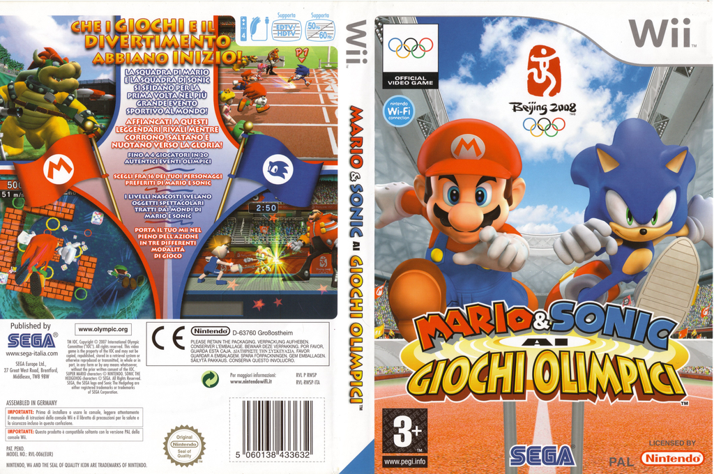 Mario & Sonic ai Giochi Olimpici Wii coverfullHQ (RWSP8P)