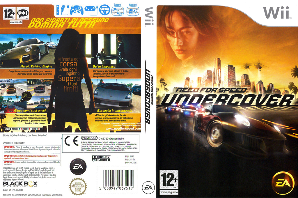 Need for Speed: Undercover Wii coverfullHQ (RX9Y69)