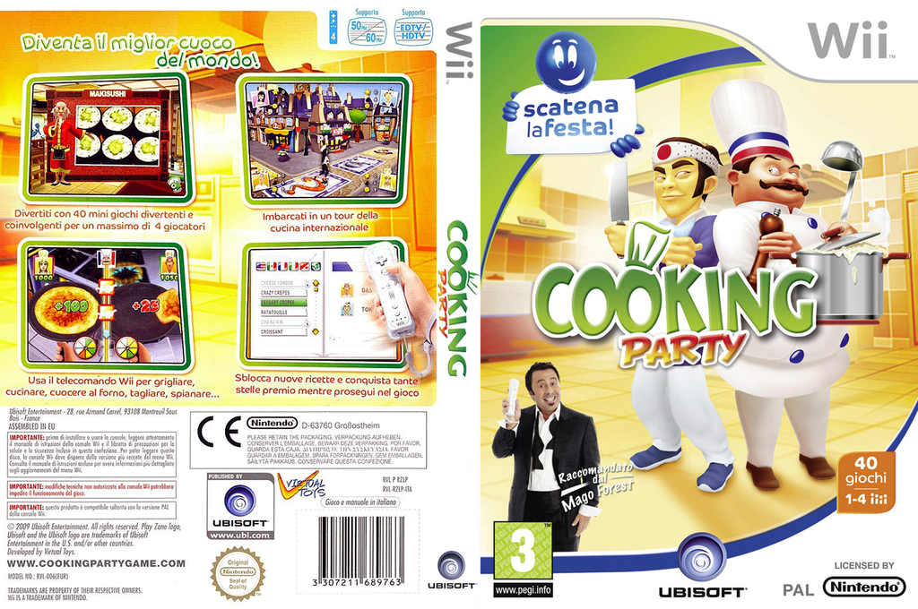 Cooking Party Wii coverfullHQ (RZLP41)