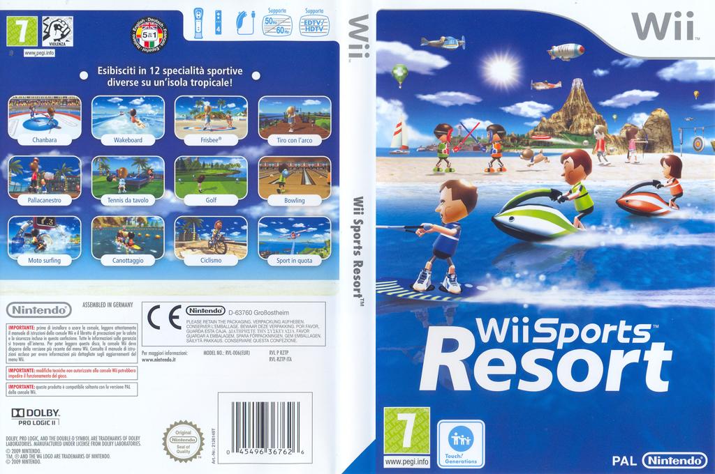 Wii Sports Resort Wii coverfullHQ (RZTP01)