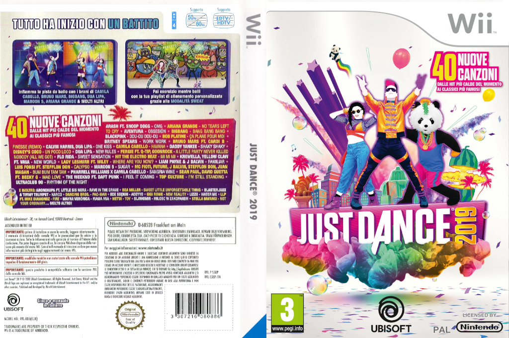 Just Dance 2019 Wii coverfullHQ (S5EP41)