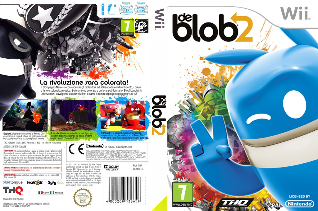 de Blob 2 Wii coverfullHQ (SDBP78)