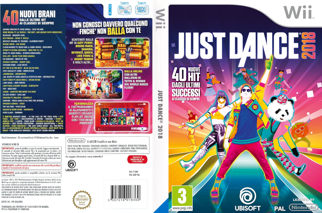 Just Dance 2018 Wii coverfullHQ (SE8P41)