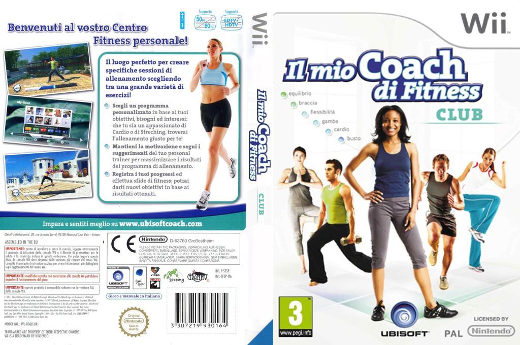 Il Mio Coach di Fitness: Club Wii coverfullHQ (SF5P41)