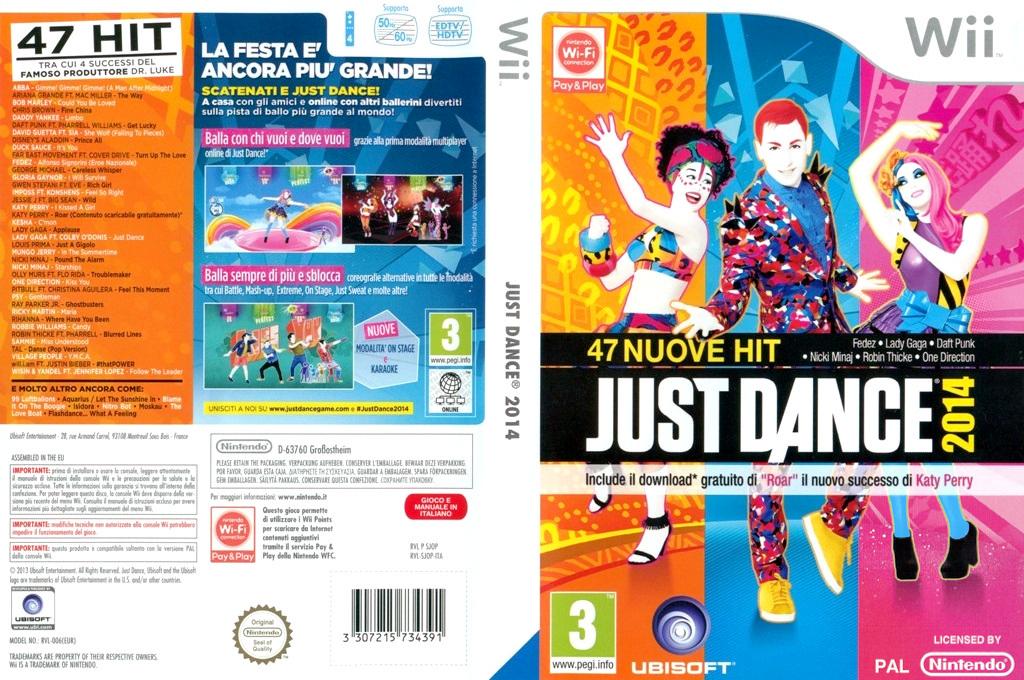 Just Dance 2014 Wii coverfullHQ (SJOP41)