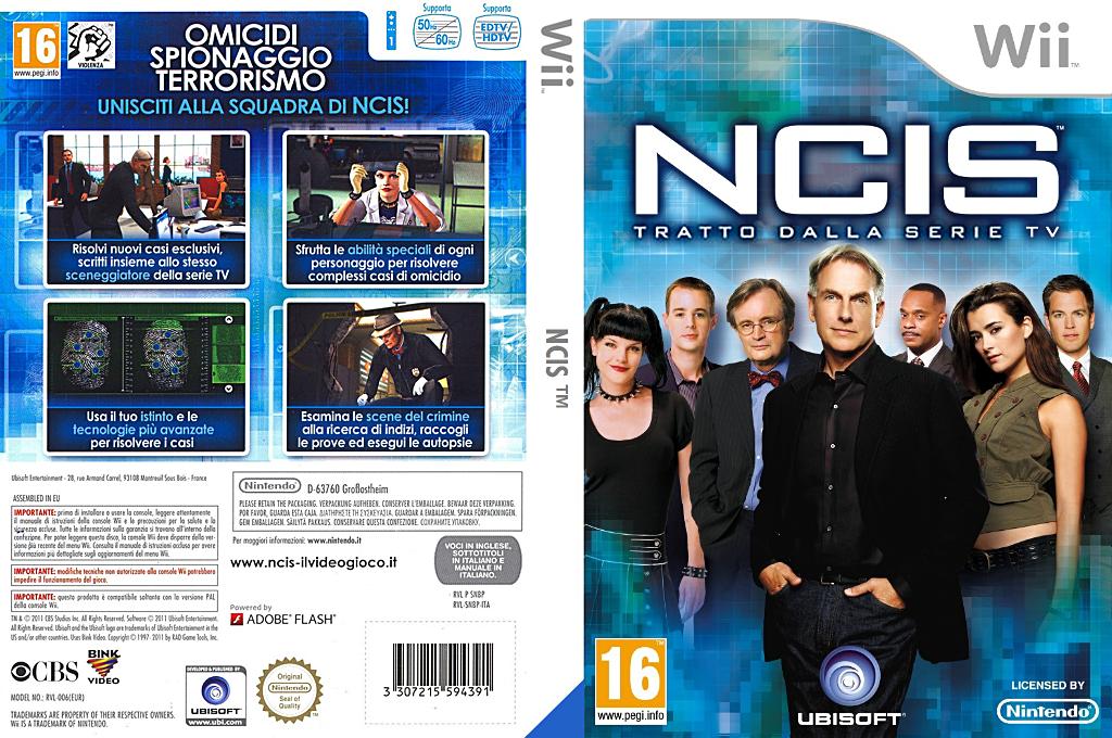 NCIS Wii coverfullHQ (SNBP41)