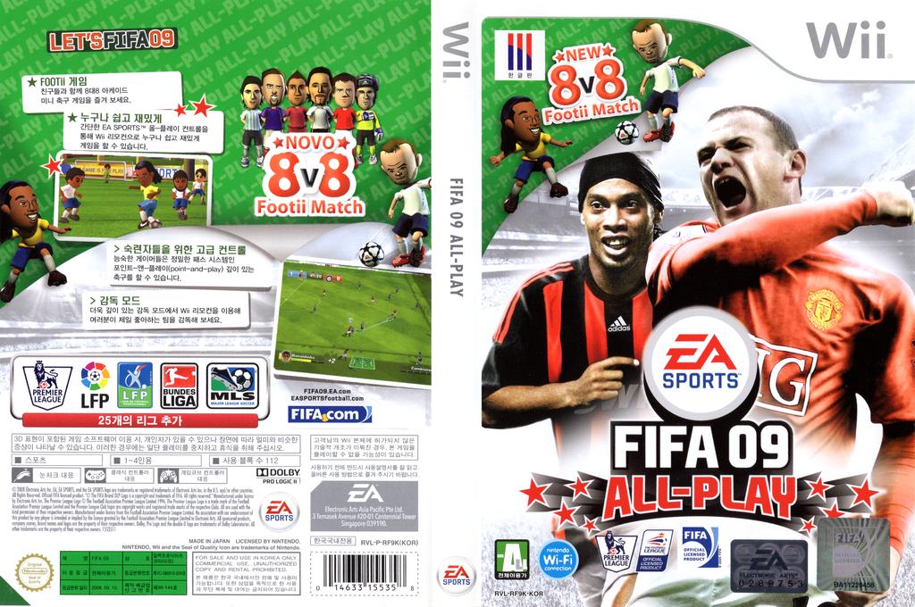 FIFA 09 All-Play Wii coverfullHQ (RF9K69)