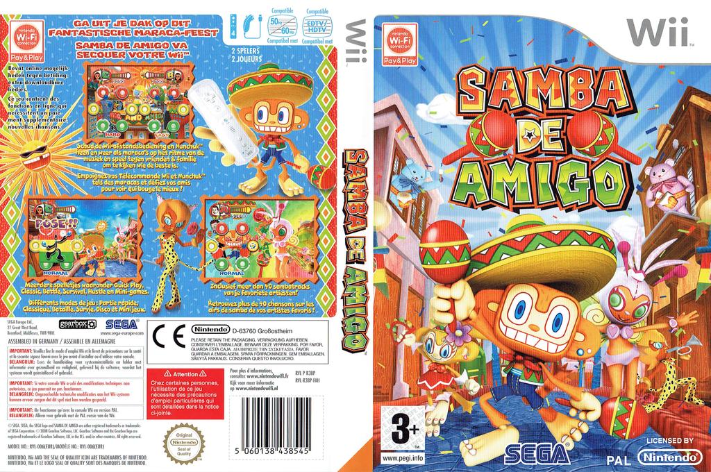 Samba de Amigo Wii coverfullHQ (R3BP8P)